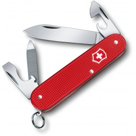 VICTORINOX MULTIPURPOSE CADET MM. 84 CHEEKS ALOX STEEL RED LIMITED EDITION 2018