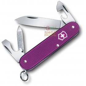 VICTORINOX MULTIPURPOSE CADET MM. 84 CHEEKS ALOX STEEL PURPLE LIMITED EDITION 2016