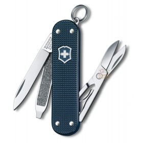 VICTORINOX MULTIPURPOSE CLASSIC MM. 58 CHEEKS ALOX STEEL BLUE LIMITED EDITION 2015