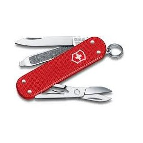 VICTORINOX MULTIPURPOSE CLASSIC MM. 58 CHEEKS ALOX STEEL RED LIMITED EDITION 2018