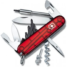 VICTORINOX MULTIPURPOSE CYBERTOOL 34 RUBY