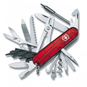 VICTORINOX MULTIPURPOSE CYBERTOOL 41 RUBY