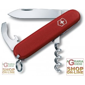 VICTORINOX MULTIPURPOSE WAITER ECOLINE ORIGINAL SWISS KNIFE BL