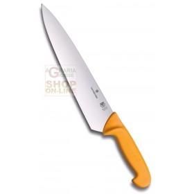 VICTORINOX SWIBO CARVING KNIFE YELLOW HANDLE POLYAMIDE CM. 26