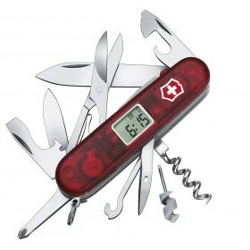 VICTORINOX VOYAGER LITE MULTIPURPOSE KNIFE RUBY LED WHITE OUTDOOR 1.7905.VT