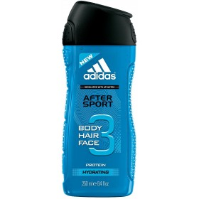 ADIDAS SHOWER FOAM FACE SHAMPOO 3 in1 AFTER SPORT ml. 250