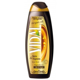VIDAL BATH FOAM ARGAN OIL NUTRE & REGENERATE 500 ML
