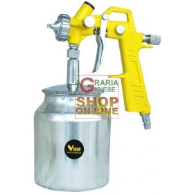 VIGOR AIRBRUSH FOR PAINT LOWER TANK GUN FOR PAINTING 750CC