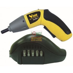 VIGOR BATTERY SCREWDRIVER VA 480 VOLT 4.8