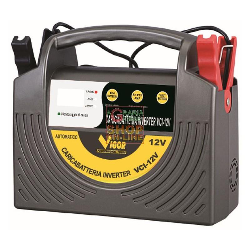 Schema Elettrico Per Caricabatterie 12 Volt : Vigor caricabatterie elettrico inverter volt