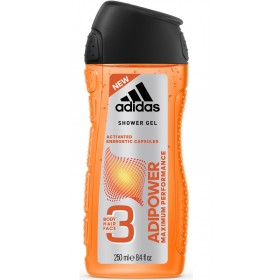 ADIDAS SHOWER GEL 3IN1 ADIPOWER 250 ML
