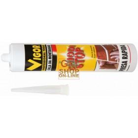 VIGOR GLUE FOR MOUNTING NAILS-STOP WHITE CARTRIDGE GR. 400