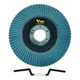 VIGOR FLAP DISC DIAM. MM.115 GR.100 52565-10 / 6