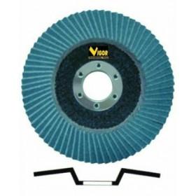 VIGOR FLAP DISC DIAM. MM.115 GR.80 52565-08 / 3