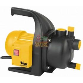 VIGOR SELF-PRIMING ELECTRIC PUMP VIG GARDEN 600 CONNECTION 1 75676-06 / 3