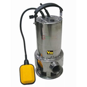 VIGOR SUBMERSIBLE ELECTRIC PUMP IN STAINLESS STEEL WATT 750 AUTOMATIC OUTLET DIAM. 1-1 / 2 F
