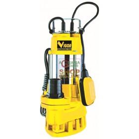 VIGOR SUBMERSIBLE ELECTRIC PUMP INOX-CAST IRON WATT 750