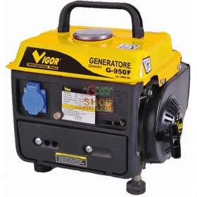 VIGOR GENERATOR G-950 POWER 220V 700 WATT COOPER WINDING IN