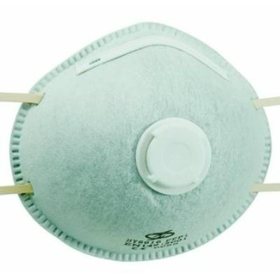 VIGOR PROTECTIVE MASKS HY-8616 CARBON WITH VALVE
