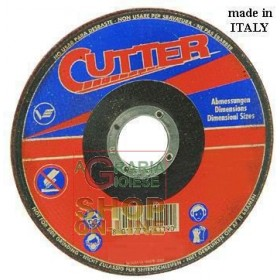 VIGOR ABRASIVE WHEEL FOR IRON WITH DEPRESSED 115X2,5X22