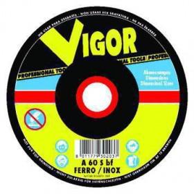 VIGOR MOLA ABRASIVA SPECIAL ACCIAIO-INOX PIANE 125X1,6X22