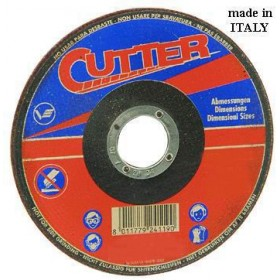 VIGOR ABRASIVE WHEELS FOR IRON WITH DEPRESSED CM. 230X3,2X22