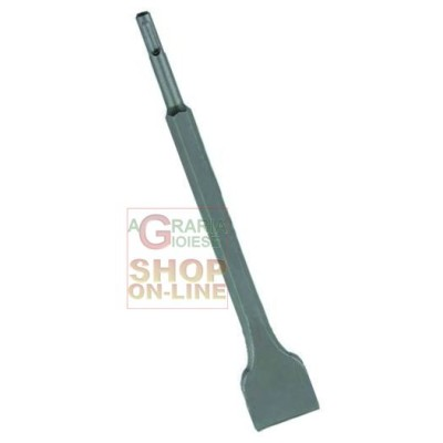 VIGOR CHISEL FOR HAMMERS SDS-PLUS ATTACHMENT WIDE 250 MM.