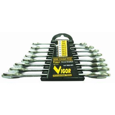 VIGOR SET CHIAVI FISSE CRV-DIN3110 PZ. 8 35822-08/0