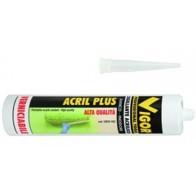 VIGOR ACRIL-PLUS WHITE SEALANT ML. 300
