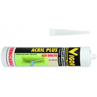 VIGOR SIGILLANTE ACRIL-PLUS BIANCO ML. 300