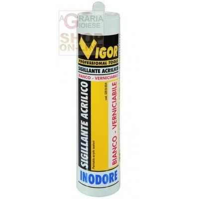 VIGOR SIGILLANTE ACRILICO -1 BIANCO ML. 310
