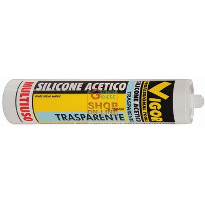 VIGOR WHITE ACETIC SILICONE ML. 280