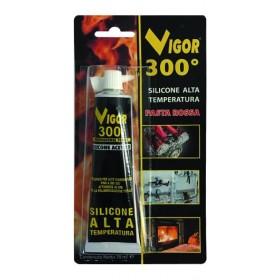 VIGOR SILICONE HIGH TEMPERATURE RED PASTE TUBE ML. 70