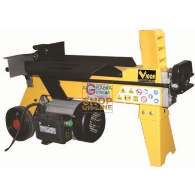 VIGOR ELECTRIC WOOD SPLITTER WS4T-37 TON. 4 WATT. 1500