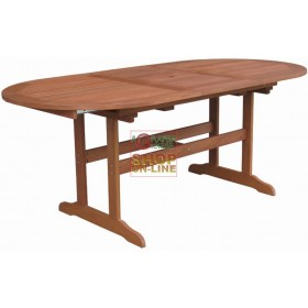 VIGOR OVAL CALIPSO EXTENDABLE WOODEN TABLE CM.147 / 193