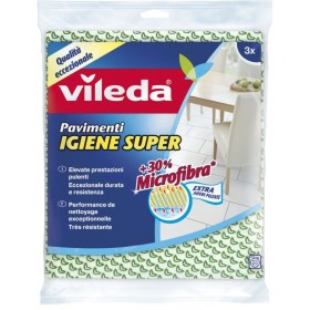 Vileda Igiene Super panno per pavimenti cm. 50x45 pz. 3