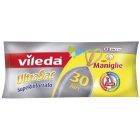 Vileda UltraSac Super-reinforced Bags cm. 50x60 lt. 30 with