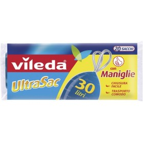 Vileda UltraSac Sacchi Universale Immondizia cm. 50x60 lt. 30