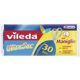 Vileda UltraSac Universal Garbage Bags cm. 50x60 lt. 30 with