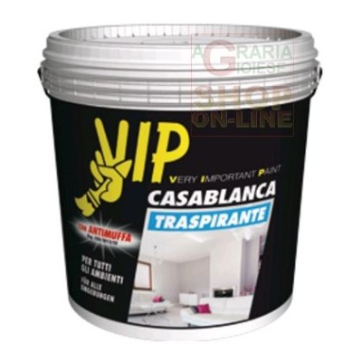 VIP CASABLANCA BREATHABLE ANTI-MOLD PAINT LT. 4 WHITE