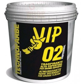 VIP PROFESSIONAL 02 BREATHABLE PAINT FOR INTERIORS LT. 14 WHITE
