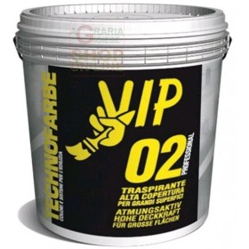 VIP PROFESSIONAL 02 BREATHABLE PAINT FOR INTERIORS LT. 4 WHITE