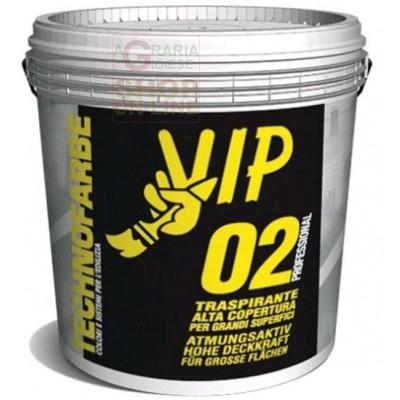 VIP PROFESSIONAL 02 PITTURA TRASPIRANTE PER INTERNI LT. 4
