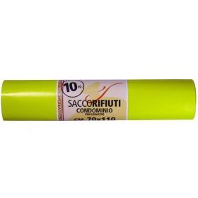 VIROSAC YELLOW CONDOMINIUM BAGS PCS 10 CM. 70X110