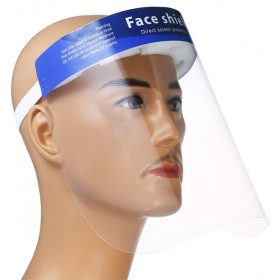 PROTECTIVE VISOR TRANSPARENT PLEXIGLASS SCREEN ANTVIRUS