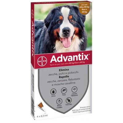 ADVANTIX TRIPLE ACTION FOR DOGS OVER KG. 40