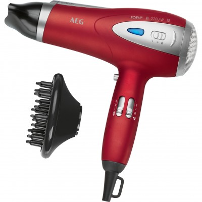 AEG HAIR DRYER IONIC RED HTD5584 COLOR RED WATT. 2200