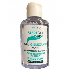 WALAND STERIGEL NATURAL ANTIBACTERIAL HAND SANITIZING GEL WITH