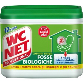 WC NET BIOLOGICAL PITS 12 SINGLE-DOSE SACHETS FOR BAD ODORS