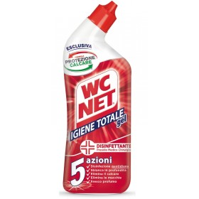 WC NET TOTAL HYGIENE DISINFECTANT GEL 5 ACTIONS 700 ML.